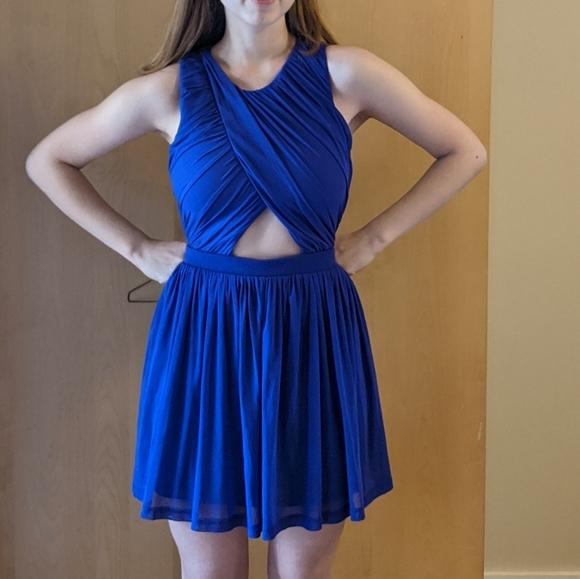 Blue Top shop dress Small